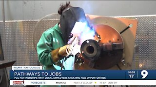 Partnerships create pathways to employment for PCC students