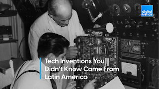 Inventions You Didn't Know Came From Latin America