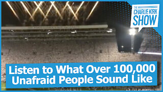 Listen to What Over 100,000 Unafraid People Sound Like