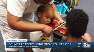 Helping Kids Go Places with Sounds Academy