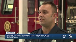 Police asking for help identifying woman caught committing arson