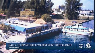 Riviera Beach considers bringing back popular waterfront seafood restaurant