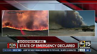 State of Emergency declared amid Goodwin Fire