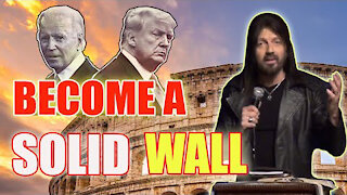 """Robin D. Bullock   POWERFUL MESSAGE: """"America Become A Solid Wall"""""""