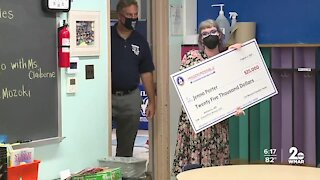 CIA surprises Baltimore teacher with $25K classroom transformation