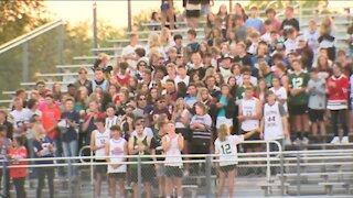Burlington High School remembers, honors 9/11 heroes before varsity football game