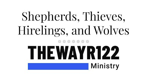 Shepherds, Thieves, Hirelings, and Wolves