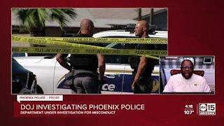 Police veteran reacts to announcement of DOJ investigation into Phoenix police