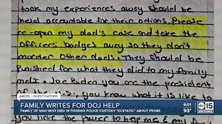 Valley family writes DOJ for help