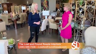 The Lost and Found Resale Interiors means if you like it, you buy it and you bring it home that day!