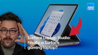 Surface Laptop Studio   Finally, a Surface gaming laptop?