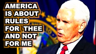 Pence Weighs in on Biden's New Tyranny | Vaxx not required for Congress