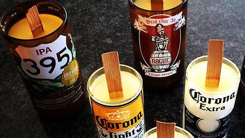 Kinkajou Bottle Cutting and Candle Making Kit