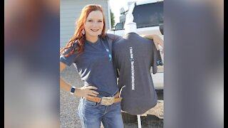 Nevada teen sells charitable clothing for Suicide Prevention Month