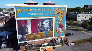 Riviera Theatre mural completed after more than 20 years