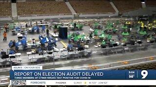 Arizona Senate GOP's 2020 election report delayed again