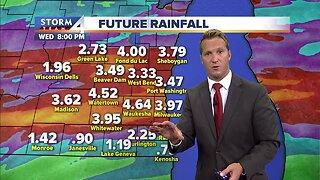 Heavy rain across southeast Wisconsin expected