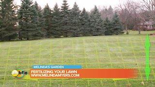 Melinda's Garden Moment – How to fertilize your lawn