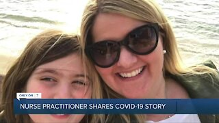 Nurse practitioner shares COVID-19 story