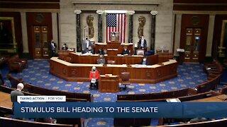 Stimulus bill heading to the Senate