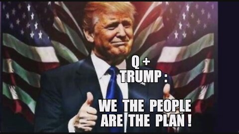 Q: WE THE PEOPLE ARE THE PLAN! TRUMP MILITARY VS DEEP STATE CABAL CCP INFILTRATION! WE WILL WIN MAGA