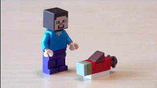 Lego Minecraft Salmon Tutorial