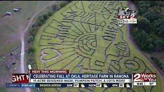 Celebrating fall at Oklahoma Heritage Farm in Ramona