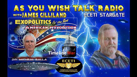 r. Michael Salla - As You Wish Talk Radio - Second American Revolution