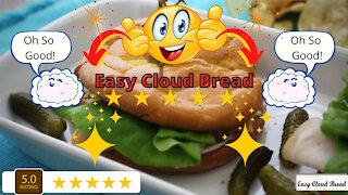 Easy and delicious cloud bread recipe