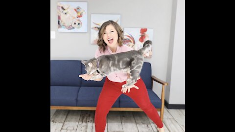 Trick cats go viral