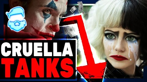 Epic Fail! Feminist Joker Film Cruella TANKS At Box Office! Even WORSE Than Mulan