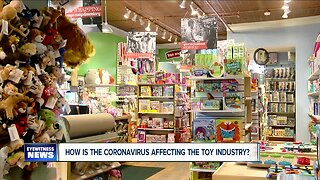 How is coronavirus affecting the Western New York toy industry?