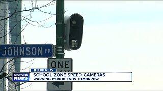 Buffalo school speed zone camera warning ends