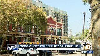 National City homes could be placed on historic list