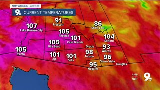 Weekend storm chances and another heat watch