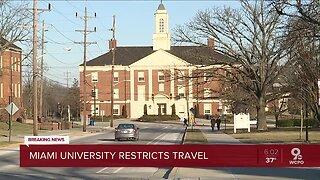 Miami University issues coronavirus travel advisory