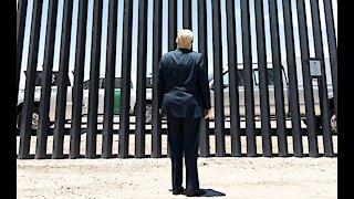 Facing Humanitarian Crisis, Biden debates building MORE border wall!