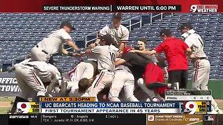 UC Bearcats heading to NCAA baseball tournament