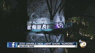 San Diego Zoo unveils new light show 'aurora'