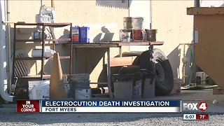 Fort Myers man electrocuted