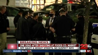 One dead after shooting of Foods Co.