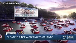 'Float-in' movie theater coming to Florida this fall