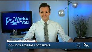 Problem Solvers Coronavirus Hotline: COVID-19 testing locations