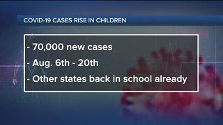 Ask Dr. Nandi: COVID-19 cases rise in children