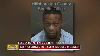 Man charged in Tampa double homicide