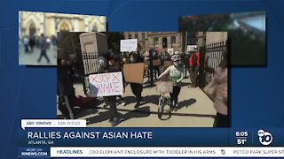Rallies against Asian hate