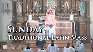 Holy Mass for Laetare Sunday, March 14, 2021 (TLM)
