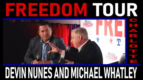 Freedom Tour Charlotte: Devin Nunes and Michael Whatley