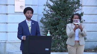 Brandon Scott sworn in as 52nd mayor of Baltimore City
