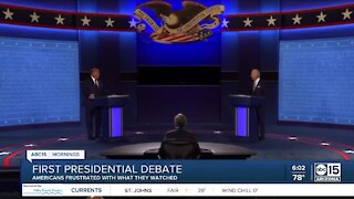 Voters react to first presidential debate
